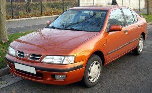 Autopotahy Nissan Primera