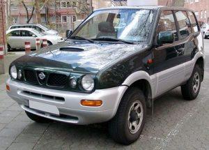 Autopotahy Nissan Terrano