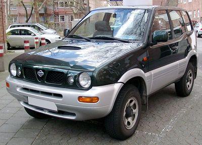 Stěrače Nissan Terrano II