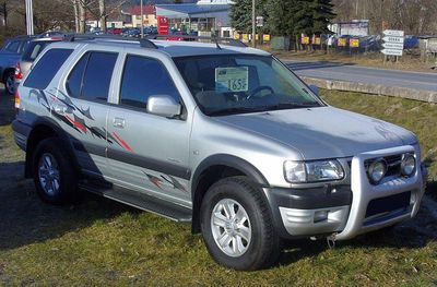 Zadní světlo Opel Frontera