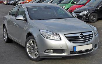 zadní světlo Opel Insignia