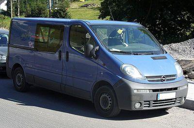 Zadní světlo Opel Vivaro