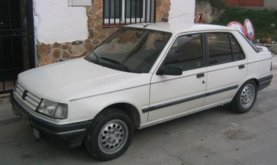 Autopotahy Peugeot 309