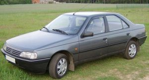 Autopotahy Peugeot 405