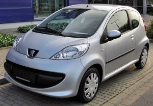 Tlumiče Peugeot 107