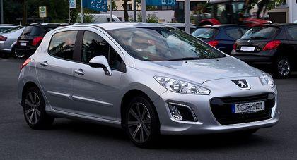 Autopotahy Peugeot 308