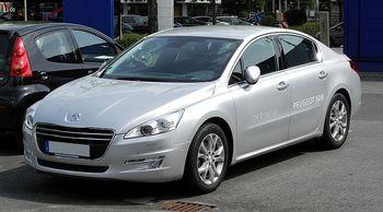 Autobaterie Peugeot 508