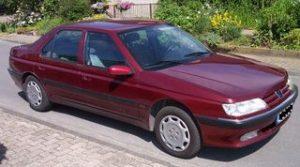 Autopotahy Peugeot 605