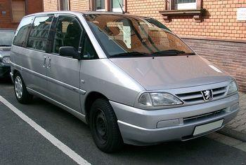 Zadní světlo Peugeot 806