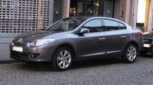 Zadní světlo Renault Fluence