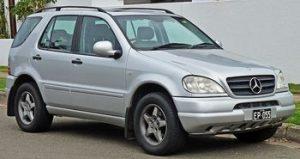 Zadní světlo Mercedes M