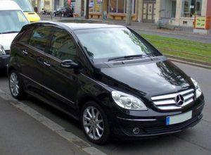 Zadní světlo Mercedes-Benz třída B