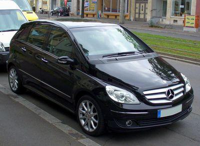 Stěrače Mercedes Benz B