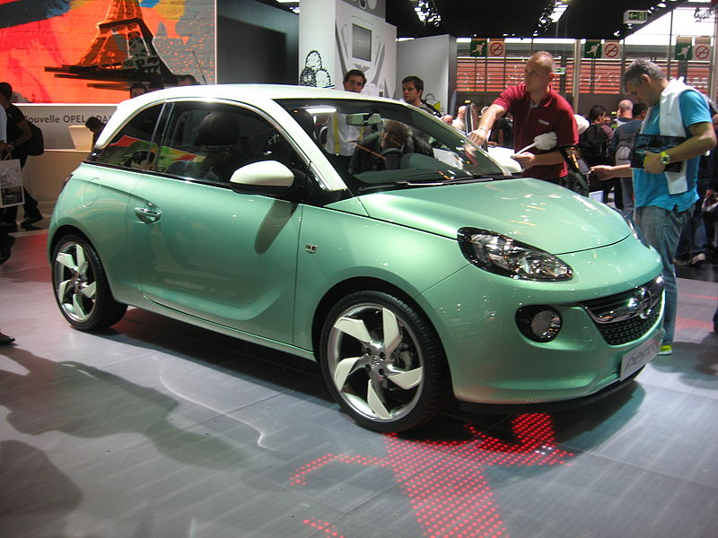 Autokoberce Opel Adam
