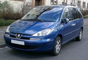 Tlumiče Peugeot 807