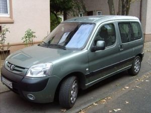 Zadní světlo Peugeot Partner