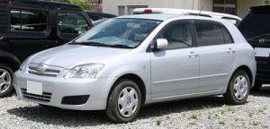 Autopotahy Toyota Corolla