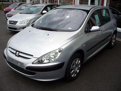 Autopotahy Peugeot 307