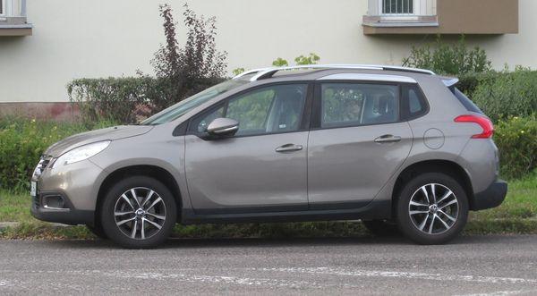 Autopotahy Peugeot 2008