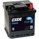 Exide Classic 12V 40Ah 320A